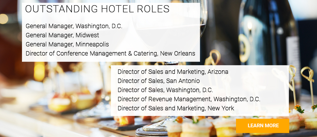 Hotel sales and marketing job opportunities available nationwide