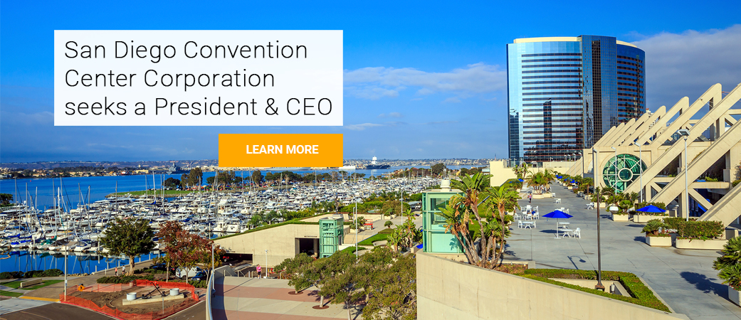 President and CEO job opportunity for the San Diego Convention Center