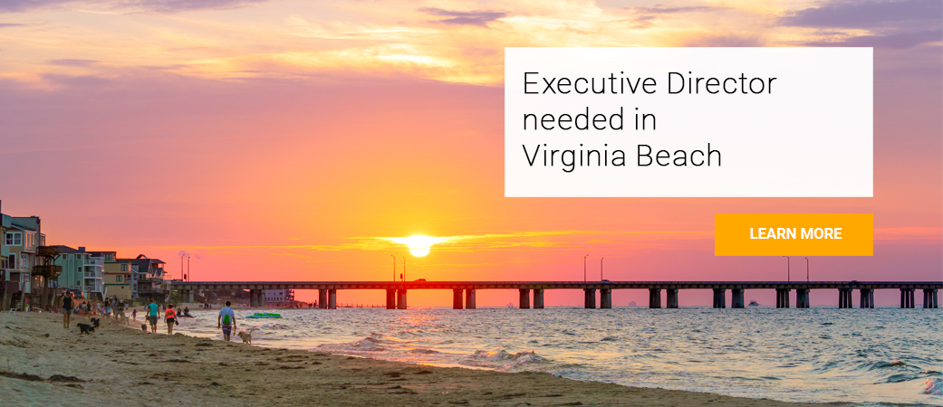 Virginia Beach Convention and Visitors Bureau is seeking an Executive Director to join their team.