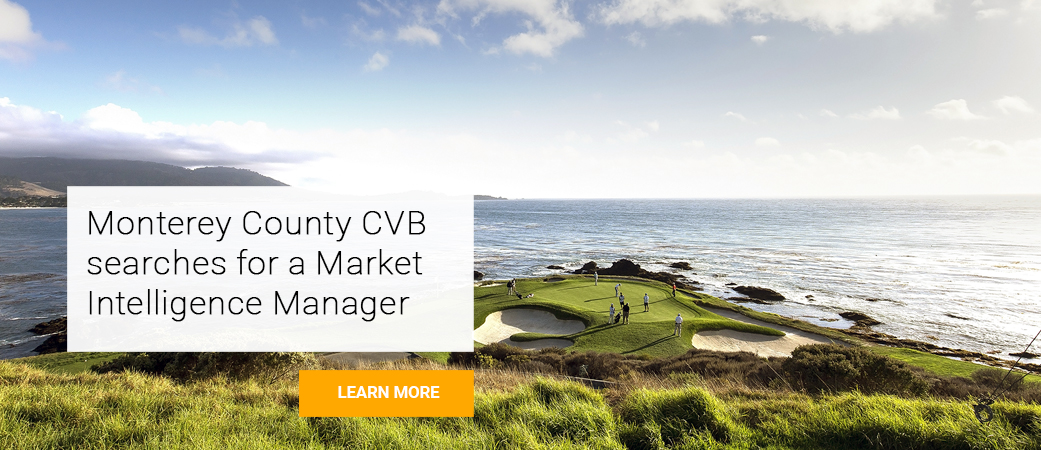 Monterey County Convention and Visitors Bureau searches for Market Intelligence Manager