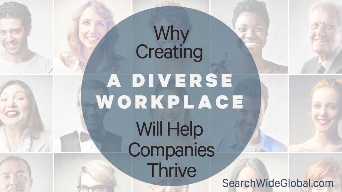 why creating a diverse workplace will help companies thrive